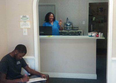 Chiropractor Receptionist